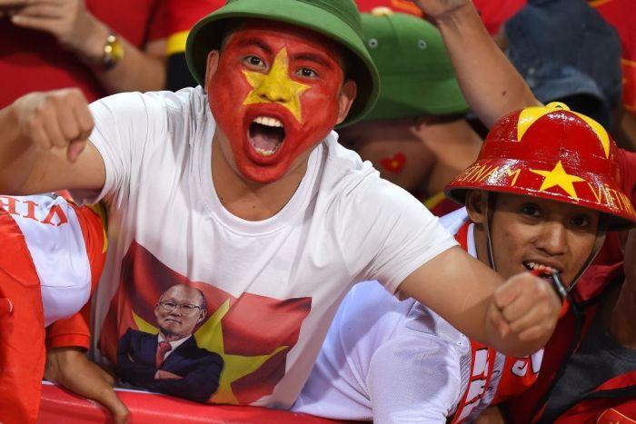 A Vietnamese World Cup Fan