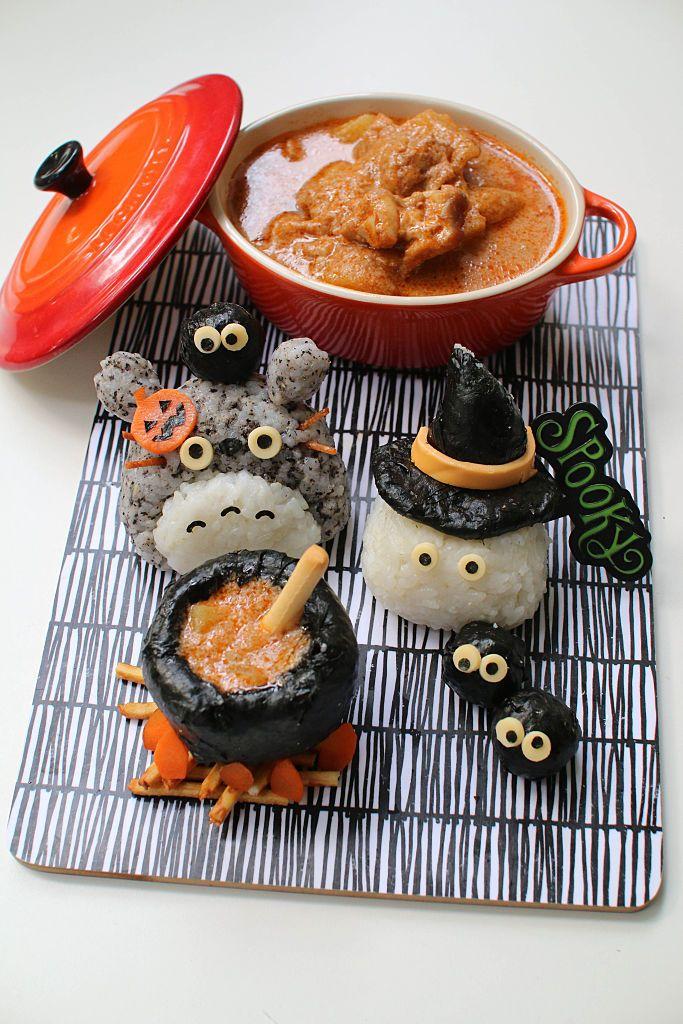 Halloween inspired sushi