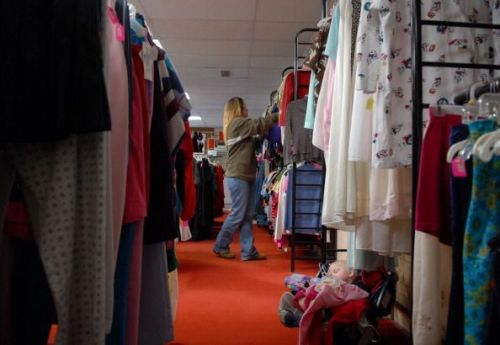 thrift, shop, clothing, kindness, charity