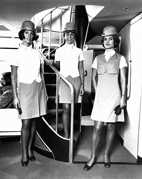 flight, stewardess, travel, pretty, fashion