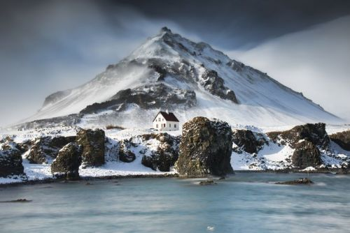Port Arnarstapi in Iceland