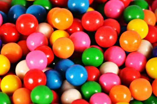 Full Frame Shot Of Colorful Gumballs