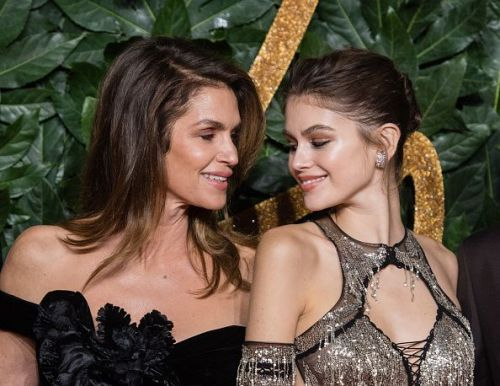 Kaia Gerber and her mother Cindy Crawford