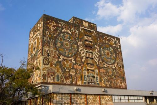 Central library of National Autonomous University of Mexico