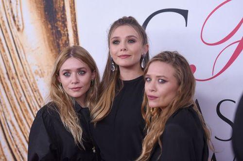 Elizabeth Olsen and Mary-Kate and Ashley Olsen