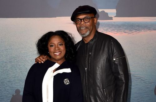 LaTanya Richardson and Samuel L. Jackson